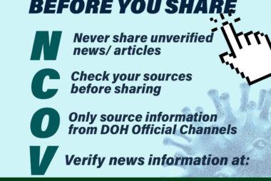 Don't Share Fake News